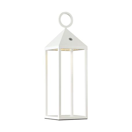 Садовый светодиодный светильник Odeon Light York 4605/2TL, IP54, LED 2W, 3000K (теплый), белый, прозрачный, металл, пластик