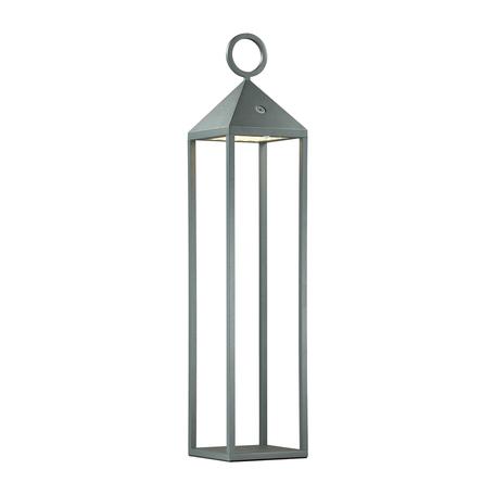 Садовый светодиодный светильник Odeon Light York 4606/2TL, IP54, LED 2W 3000K 187lm, черный, прозрачный, металл