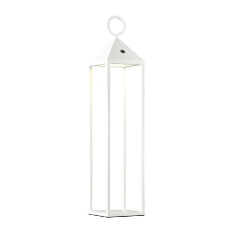 Садовый светодиодный светильник Odeon Light York 4607/2TL, IP54, LED 2W, 3000K (теплый), белый, прозрачный, металл, пластик