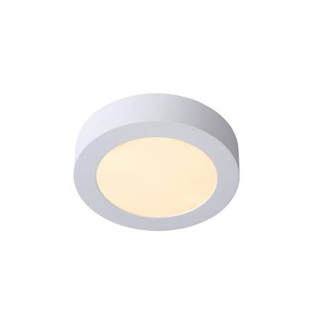 Потолочный светодиодный светильник Lucide Brice-LED 28106/18/31, IP40, LED 11W 3000K (теплый), белый, металл, пластик