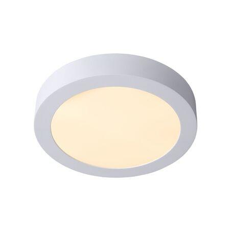 Потолочный светодиодный светильник Lucide Brice-LED 28106/24/31, IP40, LED 15W 3000K (теплый), белый, металл, пластик