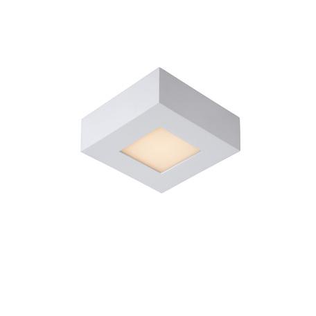 Потолочный светодиодный светильник Lucide Brice-LED 28107/11/31, IP40, LED 8W 3000K (теплый), белый, металл, пластик
