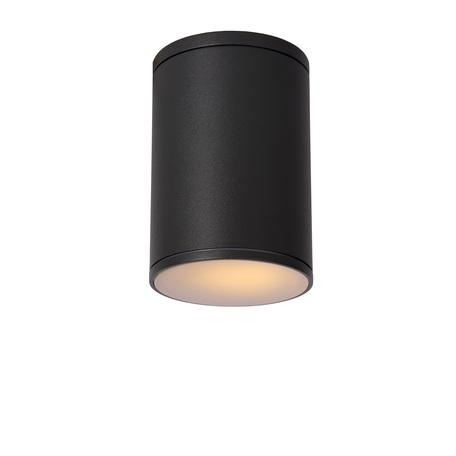 Потолочный светильник Lucide Tubix 27870/01/30, IP54, 1xE27x60W, серый, металл