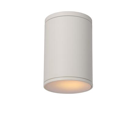Потолочный светильник Lucide Tubix 27870/01/31, IP54, 1xE27x60W, белый, металл