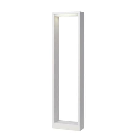 Садово-парковый светодиодный светильник Lucide Goa 28857/60/31, IP54, LED 6W 3000K 350lm, белый, металл