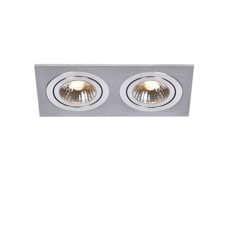 Встраиваемый светильник Lucide Chatty 28901/02/12, алюминий, хром, металл