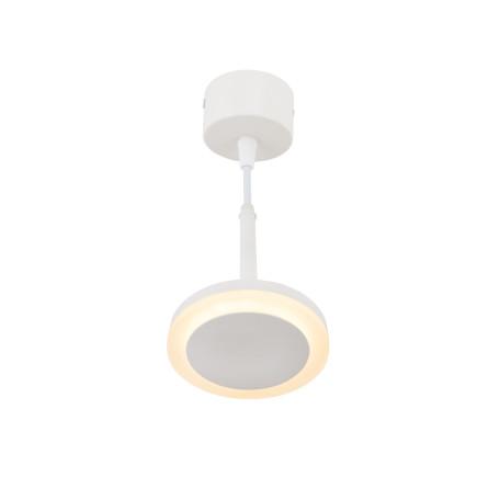 Подвесной светодиодный светильник Denkirs DK4022-WH, LED 6W, белый, металл, металл с пластиком