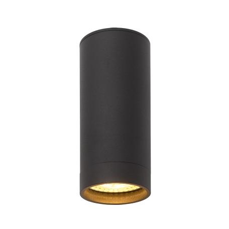 Потолочный светильник Denkirs DK2000 DK2051-BK, 1xGU10x50W, черный, металл