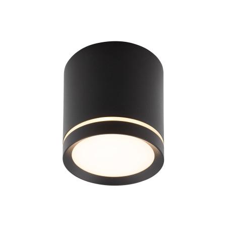 Потолочный светодиодный светильник Denkirs DK4016-BK, LED 5W, черный, металл