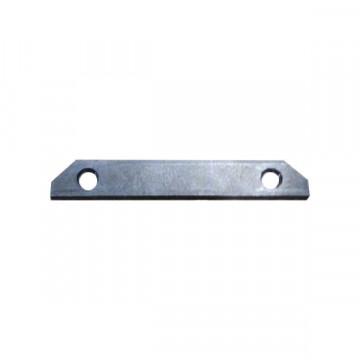 Прямой соединитель для встраимового в натяжной потолок шинопровода Denkirs Smart TR3080-AL, алюминий, металл