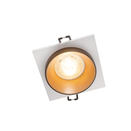 Встраиваемый светильник Denkirs DK2400 DK2402-GD, 1xGU10x50W, золото с черным, металл