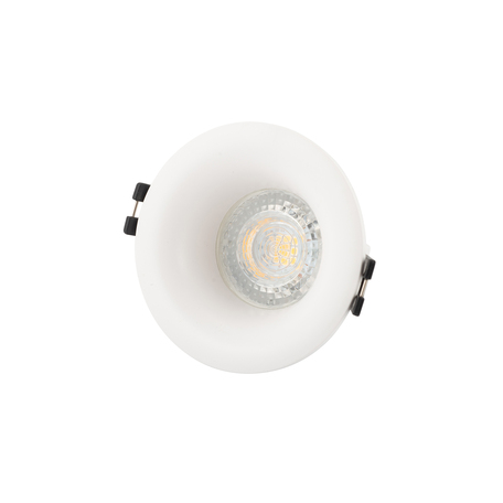 Встраиваемый светильник Denkirs DK3024-WH, 1xGU5.3x10W, белый, пластик