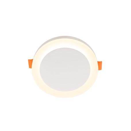 Встраиваемый светодиодный светильник Denkirs DK4020-WH, LED 6W, белый, металл с пластиком