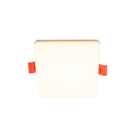 Встраиваемый светодиодный светильник Denkirs DK4600 DK4602-WW, LED 10W, белый, пластик