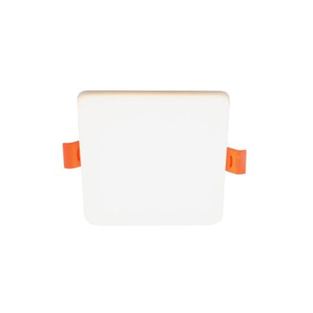 Встраиваемый светодиодный светильник Denkirs DK4600 DK4603-DW, LED 10W, белый, пластик