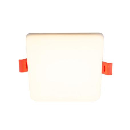 Встраиваемый светодиодный светильник Denkirs DK4600 DK4606-WW, LED 18W, белый, пластик