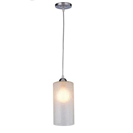 Подвесной светильник Toplight Lettice TL4060D-01CH, 1xE27x60W, хром, прозрачный, металл, стекло