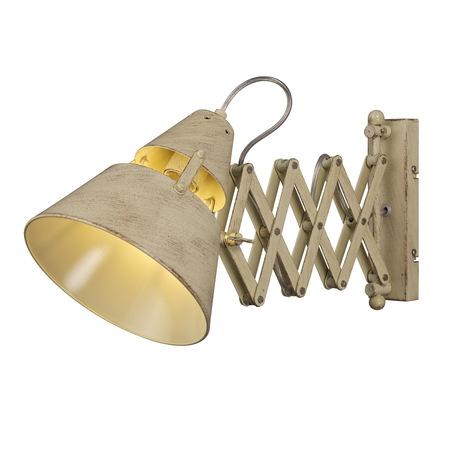 Настенный светильник с регулировкой направления света Mantra Industrial 5434, бежевый, металл