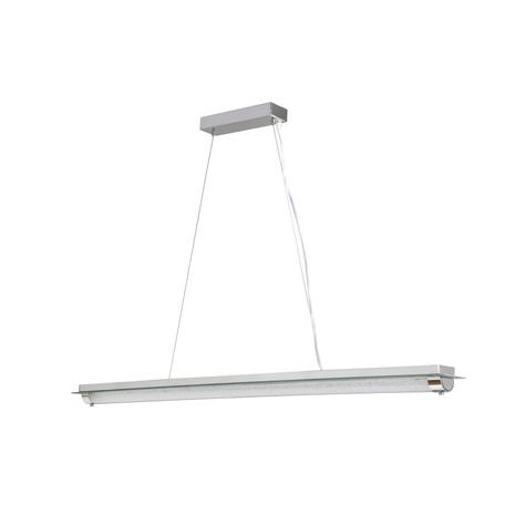 Подвесной светильник Mantra Tube 5530, хром, матовый, металл, стекло