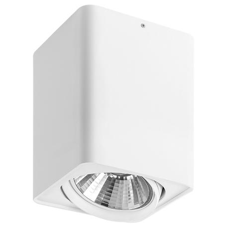 Потолочный светильник Lightstar Monocco 212636, 1xAR111x50W, белый, металл