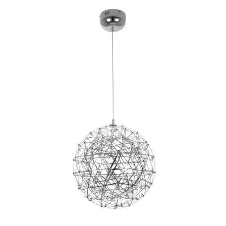 Подвесная светодиодная люстра Loft It Moooi Raimond 9027-43, LED 27W 3000K, хром, металл