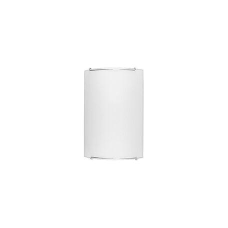Настенный светильник Nowodvorski Classic 1129, 1xE14x60W, хром, белый, металл, стекло