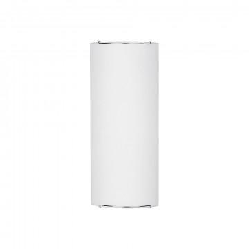 Настенный светильник Nowodvorski Classic 1130, 2xE14x60W, хром, белый, металл, стекло