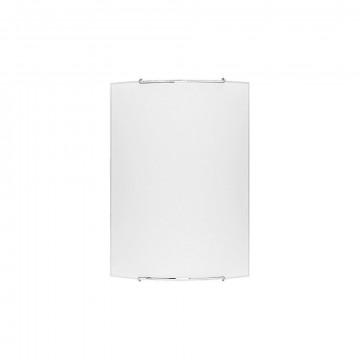 Настенный светильник Nowodvorski Classic 1131, 1xE27x100W, хром, белый, металл, стекло