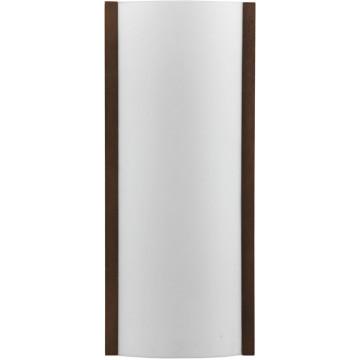 Настенный светильник Nowodvorski KLIK wenge 2924, 2xE27x100W, венге, белый, металл, дерево, стекло