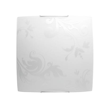 Потолочный светильник Nowodvorski IVY 3727, 2xE27x100W, хром, металл, стекло - миниатюра 1