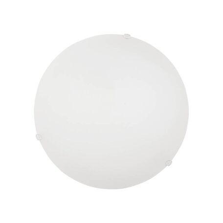 Потолочный светильник Nowodvorski Classic 3908, 1xE27x60W, хром, белый, металл, стекло