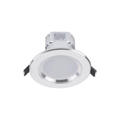 Встраиваемый светодиодный светильник Nowodvorski Ceiling LED 5954, LED 3W 4000K 270~300lm, белый, металл со стеклом, стекло