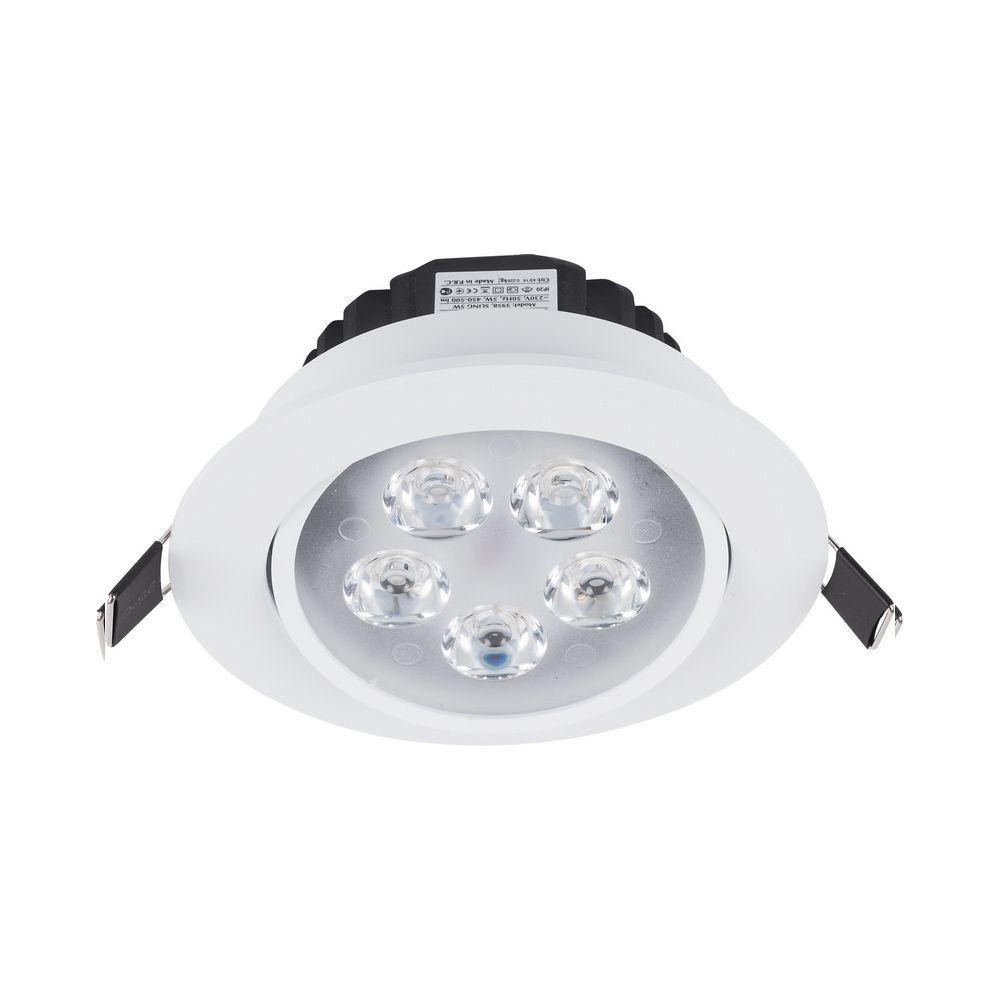 Встраиваемый светодиодный светильник Nowodvorski Ceiling LED 5958, LED 5W 4000K 450~500lm, белый, металл, металл с пластиком - фото 1
