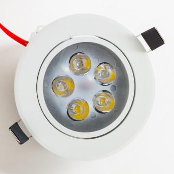 Встраиваемый светодиодный светильник Nowodvorski Ceiling LED 5958, LED 5W 4000K 450~500lm, белый, металл, металл с пластиком - миниатюра 5
