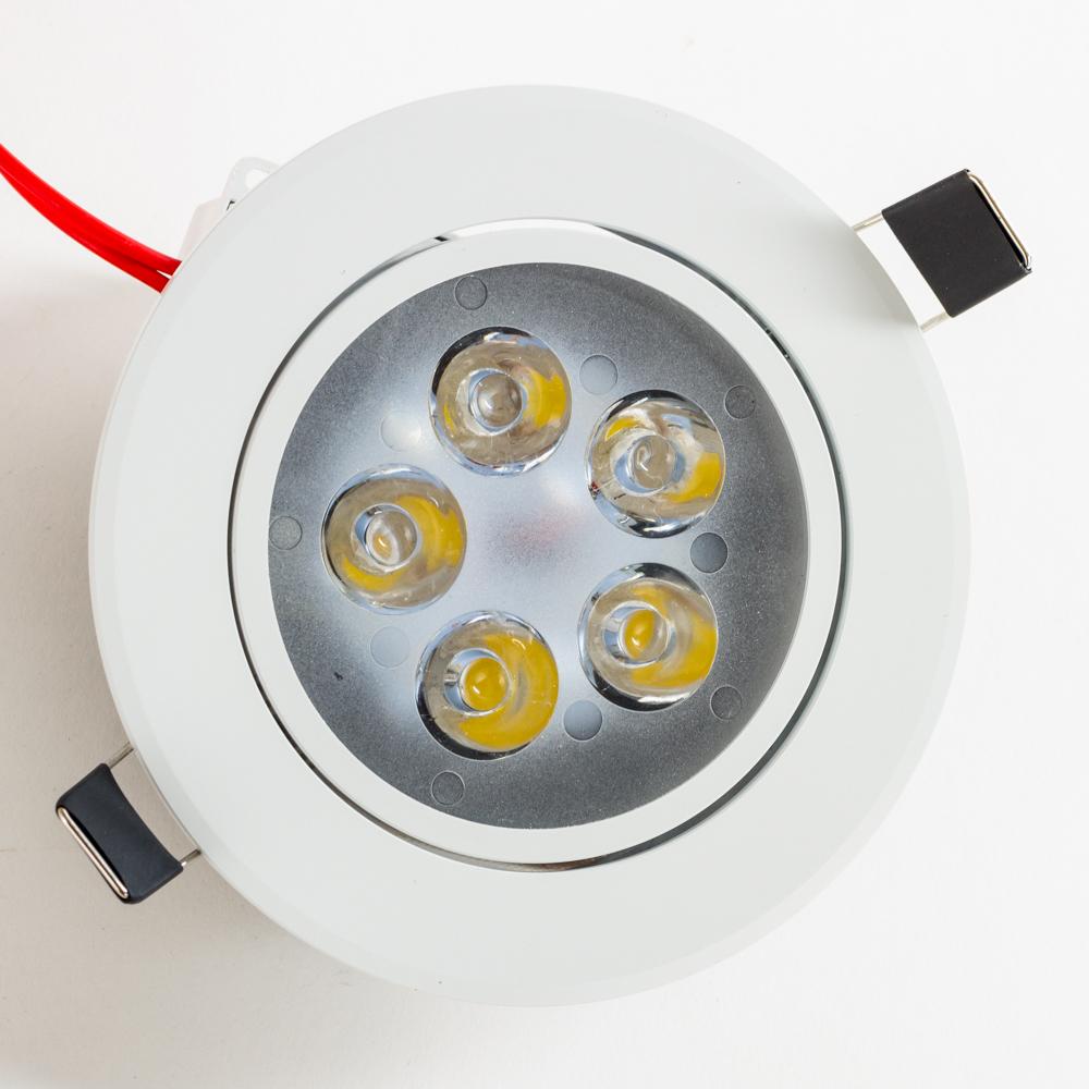 Встраиваемый светодиодный светильник Nowodvorski Ceiling LED 5958, LED 5W 4000K 450~500lm, белый, металл, металл с пластиком - фото 5