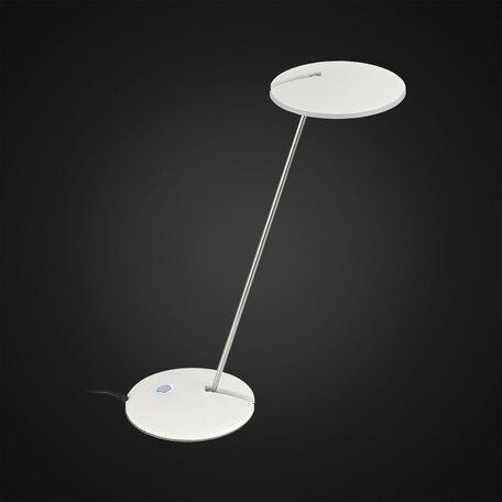 Настольная светодиодная лампа Citilux Ньютон CL803030, LED 8W 3600K 750lm, белый, металл