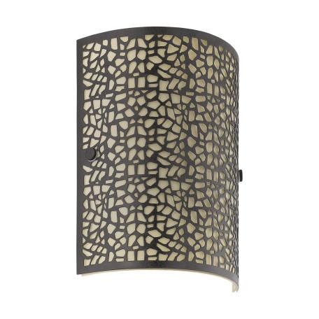Настенный светильник Eglo Almera 89115, 1xE14x60W, коричневый, металл