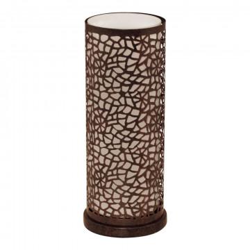 Настольная лампа Eglo Almera 89116, 1xE27x60W, коричневый, металл