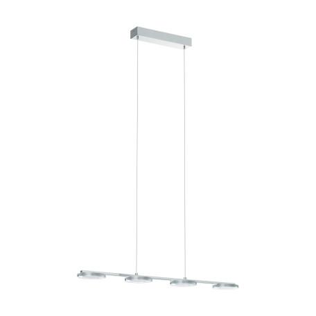 Подвесной светодиодный светильник Eglo Cartama 94245, LED 18W 3000K 1920lm, хром, белый, металл, пластик