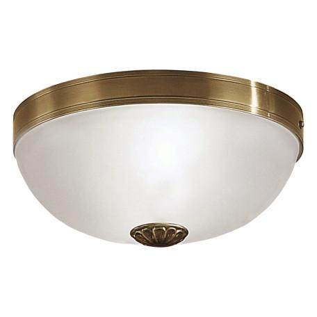 Потолочный светильник Eglo Imperial 82741, 2xE27x60W, бронза, белый, металл, стекло