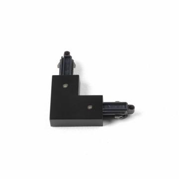 L-образный правый соединитель для шинопровода Astro Track 6020015 (2068), черный, пластик
