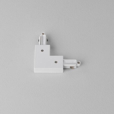 L-образный правый соединитель питания для треков Astro 6020007 (1994), белый, пластик