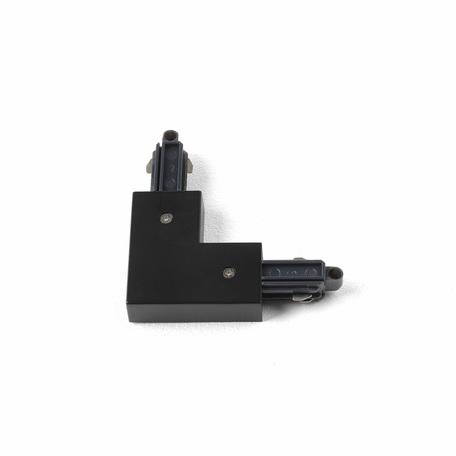 L-образный правый соединитель питания для треков Astro 6020015 (2068), черный, пластик