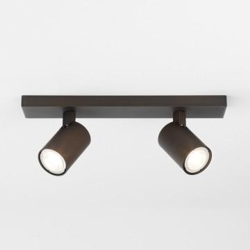 Потолочный светильник с регулировкой направления света Astro Ascoli 1286035 (6160), 2xGU10x50W, бронза, металл