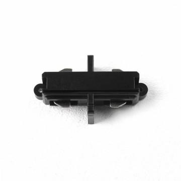 Внутренний прямой соединитель для шинопровода Astro Track 6020012 (2065), черный, пластик