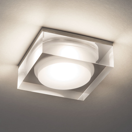 Встраиваемый светодиодный светильник Astro Vancouver 1229013 (5753), IP44, LED 6W 3000K 755lm CRI80, прозрачный, пластик