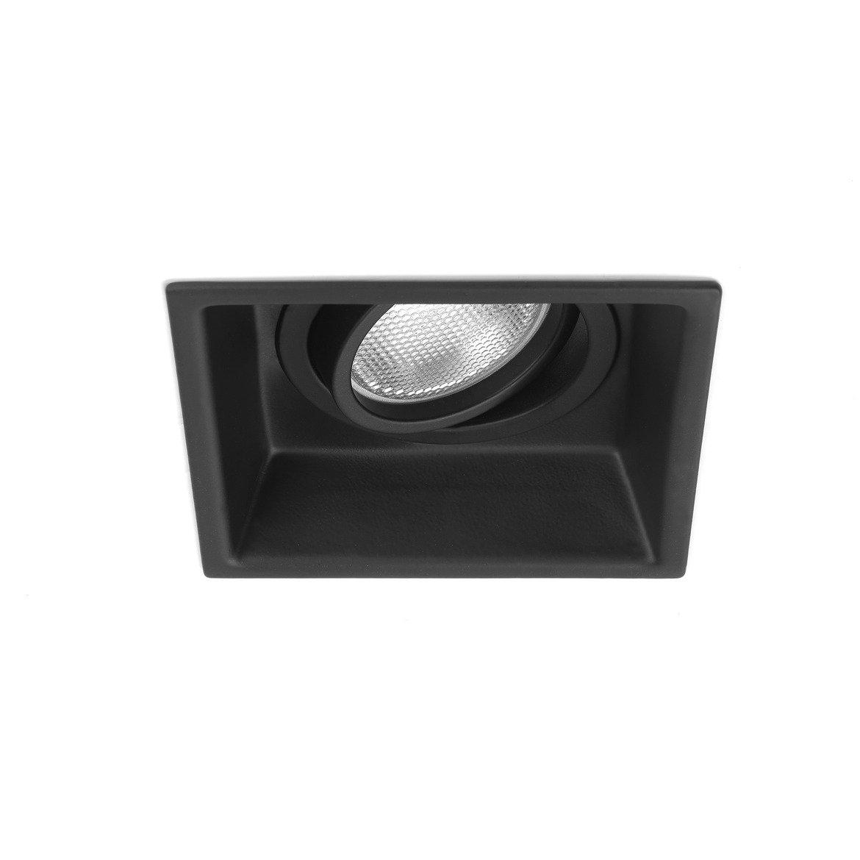 Встраиваемый светильник Astro Minima 1249020 (5796), 1xGU10x50W, черный, металл - фото 1
