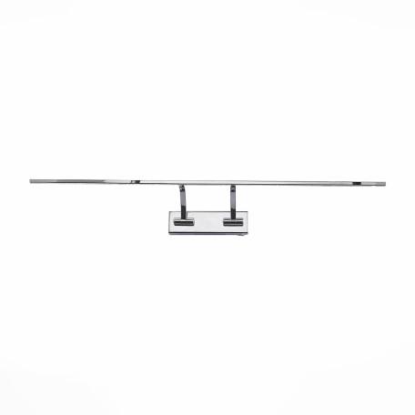 Настенный светодиодный светильник для подсветки картин ST Luce Minare SL595.111.01, LED 15W 4000K, хром, белый, металл