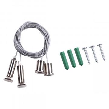 Набор для подвесного монтажа шинной системы Novotech Kit 135116, сталь, металл