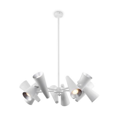 Светильник Maytoni Giro MOD095PL-10W, 10xGU10x50W, белый, металл